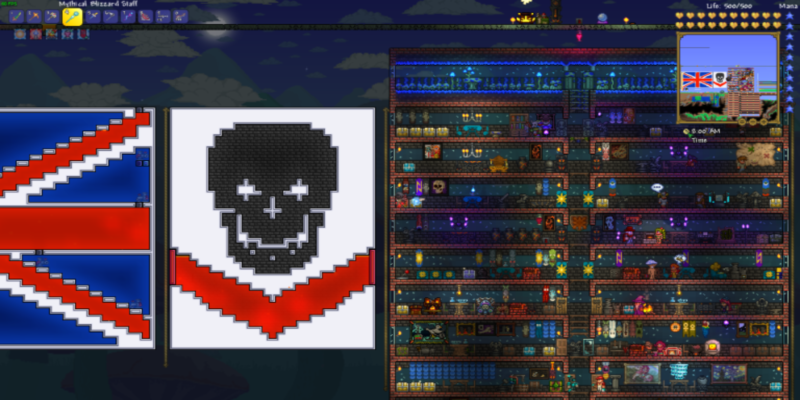Red Shadows emblem and home base